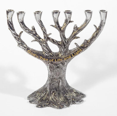 Menorah - God's Tree Of Life And Light (zevenarmige kandelaar)