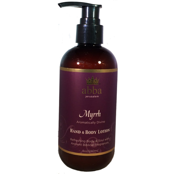 Myrrh Hand- & Bodylotion (8 oz)
