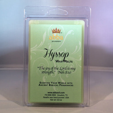 Hyssop Wax Melts