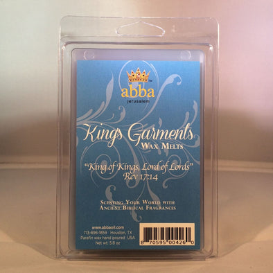 King's Garments Wax Melts