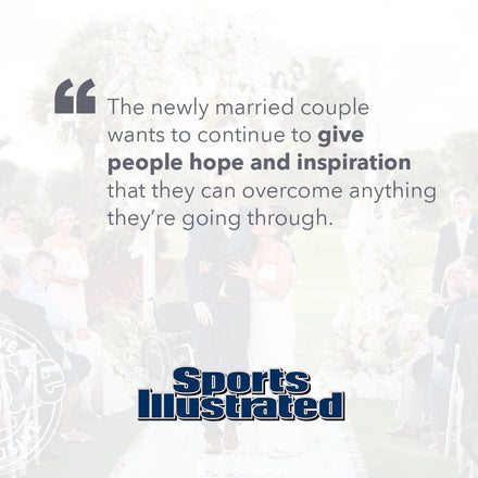 Sports Illustrated Features Chris and Emily's Story and Official 7 Yards Trailer