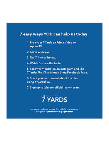 Share 7 Yards with 7 friends