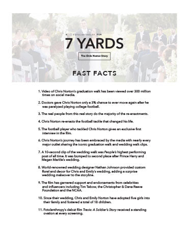 7 Yards Fast Facts