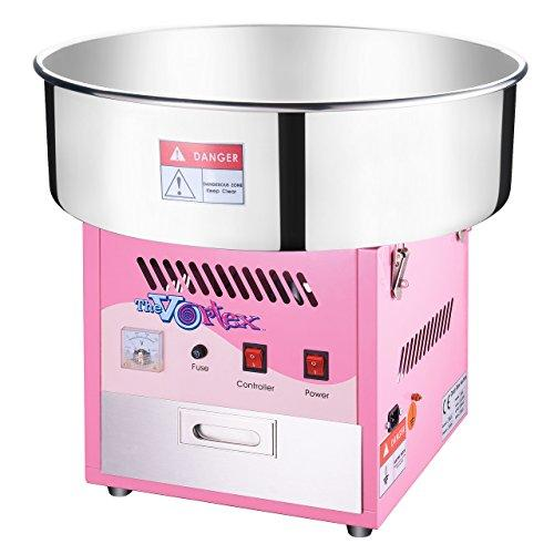 6303 Great Northern Popcorn Commercial Quality Cotton Candy Machine and Electric Candy Floss Maker - Pink and Caboodle