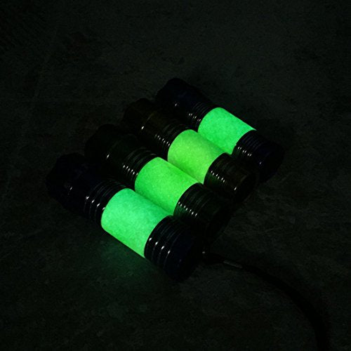 Everbrite 4-Pack Mini LED Glow-in-the-Dark Colored Flashlights