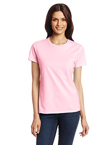 Hanes Women's Nano T-Shirt, X-Large, Pale Pink