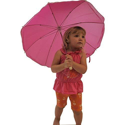 Kid's Camp/Beach Chair with Carry Umbrella & Matching Tote Bag, Hot Pink - Pink and Caboodle