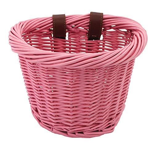 Pink Wicket Bicycle Basket - Pink and Caboodle
