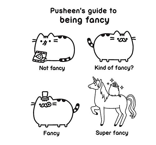 Pusheen Coloring Book (A Pusheen Book) – Pink And Caboodle