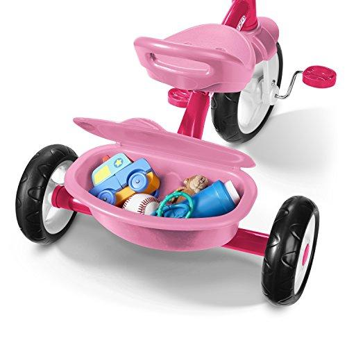 Radio Flyer Rider Trike Ride On, Pink - Pink and Caboodle