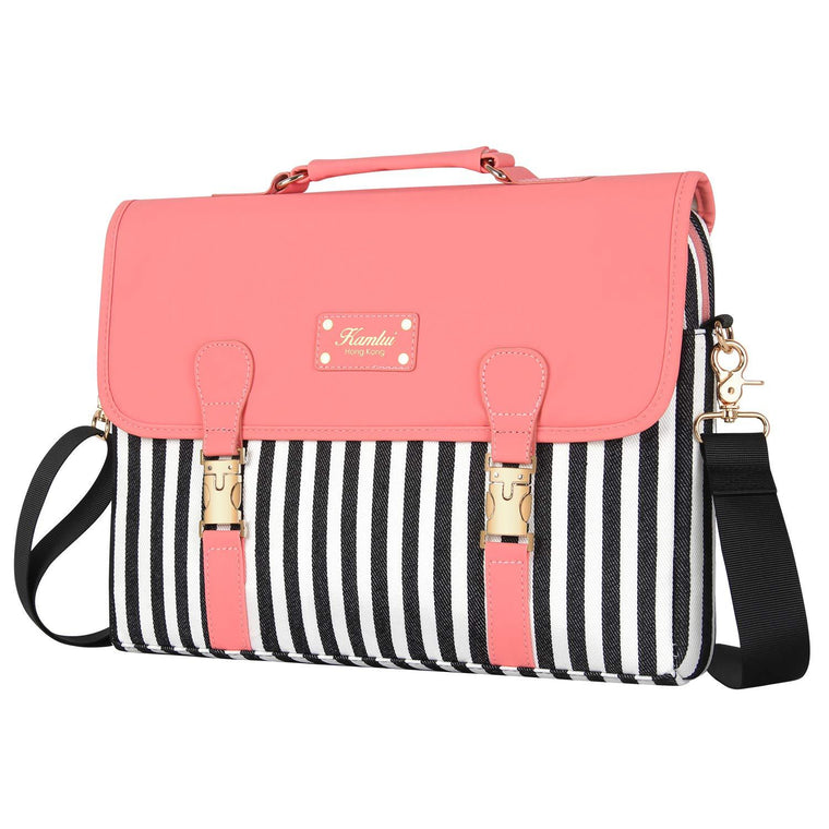 Laptop Bag 15.6 Inch - for Women Laptop Case Shoulder Messenger Macbook Pro Bag ...
