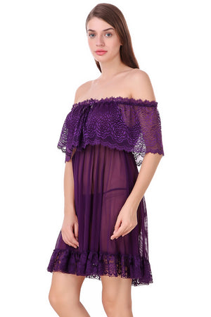 Fasense Women's Baby Doll Dress WE023
