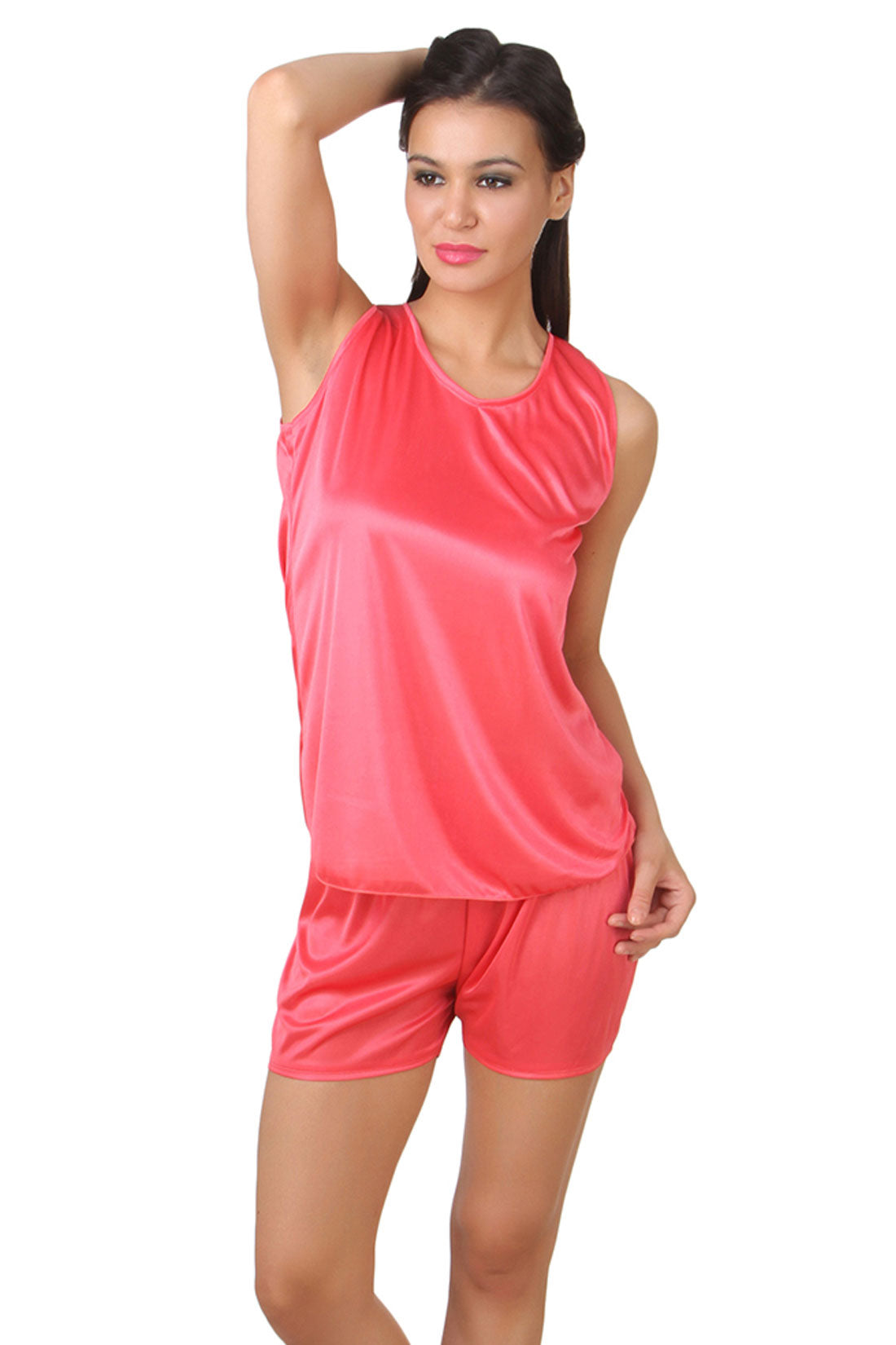 Fasense  Satin Nightwear Top & Shorts Set DP144 - fasensestore