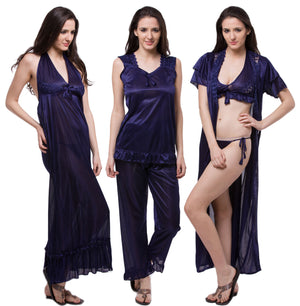 6 Pc Sets Wrap Gown and Sets Your Lingerie s Nightwear Store bc465b2b5