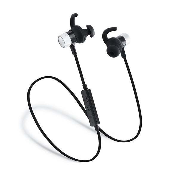 Laud Sports Bluetooth Wireless In-Ear Headphones - Premium HD Sound - Noise Cancelling Stereo Headset