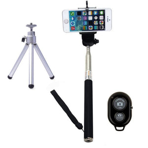 New Monopod Selfie Stick Handheld Tripod Bluetooth For iOS and for Android