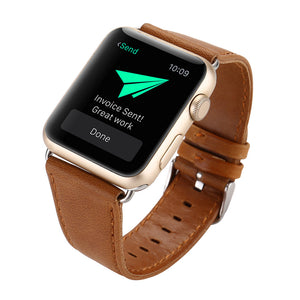 42mm Leather Apple Watch Strap