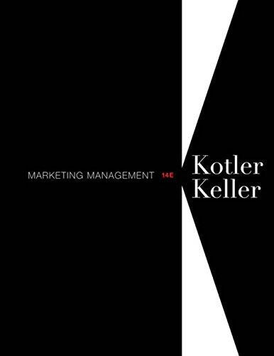 Test Bank for Marketing Management (14th Edition) Kotler Test bank PDF