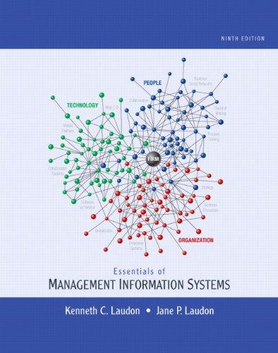 Test Bank for Essentials of Management Information Systems 9th Edition