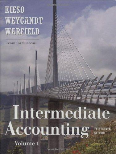 Test Bank for Intermediate Accounting 13th Edition Volume 1 & 2