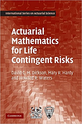 Actuarial Mathematics for Life Contingent Risks	David C. M. Dickson; Mary R. Hardy; Howard R. Waters	9780521118255	1	PDF