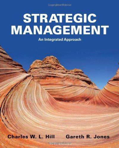 Test Bank for Strategic Management: An Integrated Approach 10th Edition