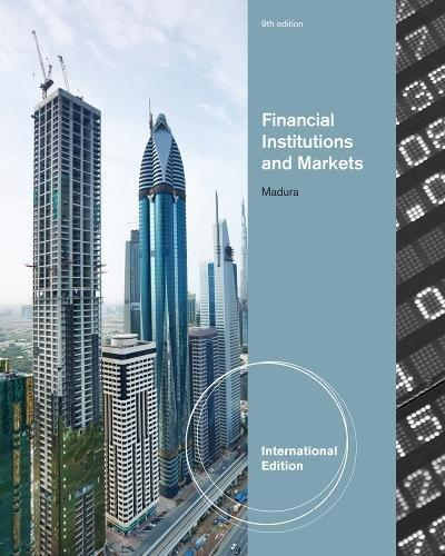 Test Bank for Financial Institutions and Markets 9th Edition