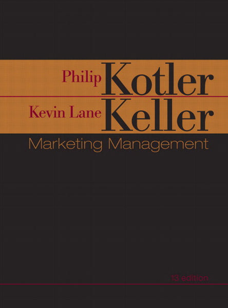 Test Bank for Marketing Management (13th Edition) PDF