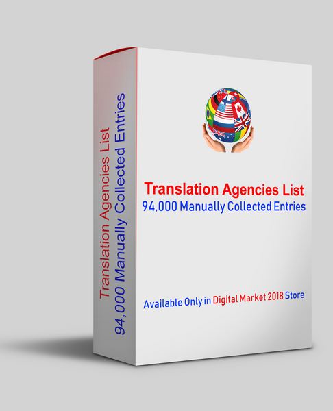 Translation Agencies List, Database of Translation Companies, Email List