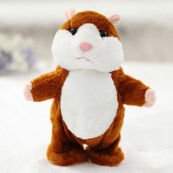 Chatty Hamster Interactive Plush Toy