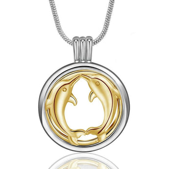 Illume™ Dolphin Kiss Essential Oil Diffuser Locket with 6 Easy-Switch Oil Pads