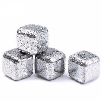 Stainless Steel Whisky Stones (5pc Set)