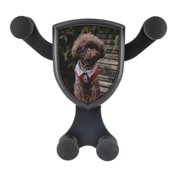Artemis™ - Dapper Poodle Car Wireless Phone Charger and Holder