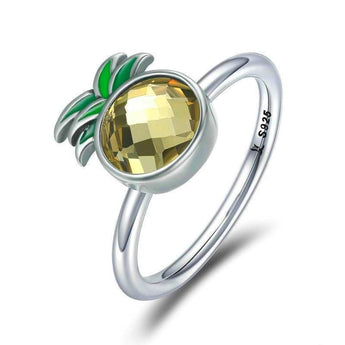 Azuli™ - Aloha Pineapple Sterling Silver Ring