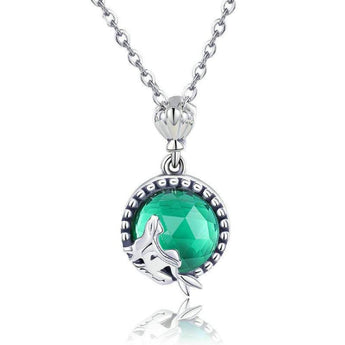Azuli™ - Enchanting Mermaid Sterling Silver Necklace