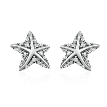 Azuli™  - Trendy Starfish Sterling Silver Earrings