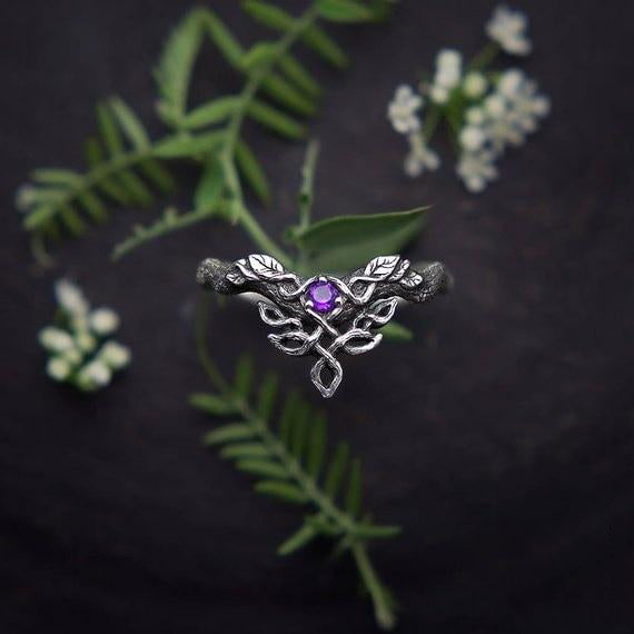 Celticá™ - Vintage Celtic Weave Sterling Silver Ring
