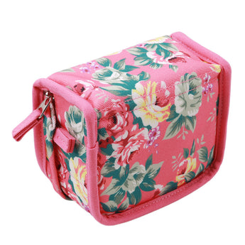Essentia™ Essential Oil Vintage Floral Fabric Travel Case for 5ml/10ml/15ml Bottles - 9 Slots / 20 Slots