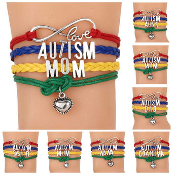 Autism Awareness Family Bracelet Band