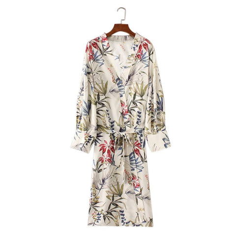 Tropical Beauty Ladies Kimono