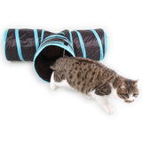 Foldable 3-Way Cat Tunnel