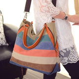 Tabitha™ Patchwork Tote Canvas Bag