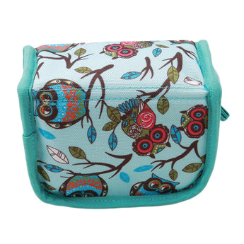 Essentia™ Essential Oil Vintage Owl Fabric Travel Case for 5ml/10ml/15ml Bottles - 9 Slots / 20 Slots