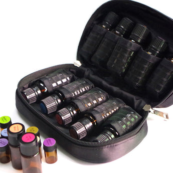 Essentia™ Essential Oil Travelers Case for 5ml/10ml/15ml Bottles - 10 Slots