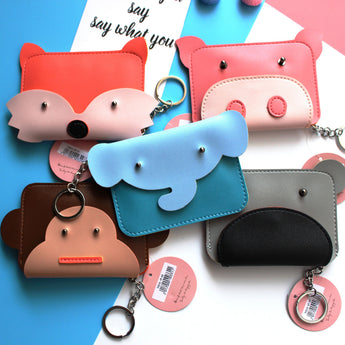 Kawaii Animal Mini-Wallet