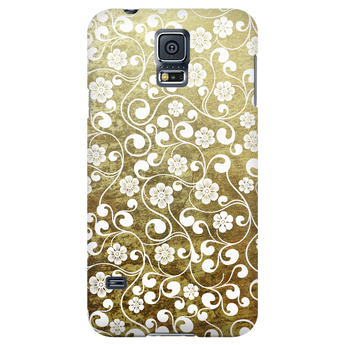 Flowers On Concrete Samsung Galaxy & iPhone Case