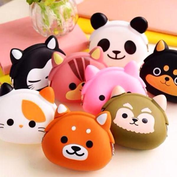 Kawaii Baby Pets Coin Purse