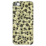 Paisley Silhouette Samsung Galaxy & iPhone Case
