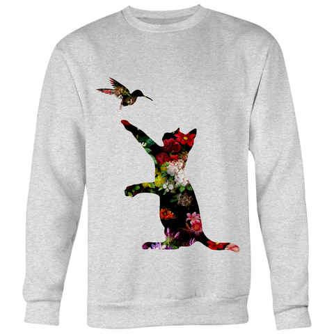 "Floral Cats ""Play"" Tops"