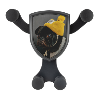 Artemis™ - Snug Pug Car Wireless Phone Charger and Holder